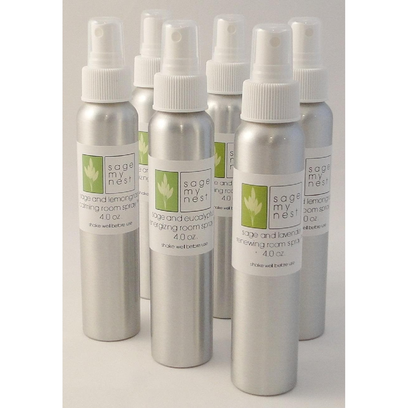 Sage My Nest 4.0 oz. Smudge Spray (Select From A Variety Of Scents)
