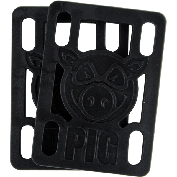 "1/2"" Risers Black (single set)"