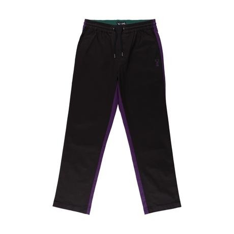Dark Wave Split Color Elastic Pant