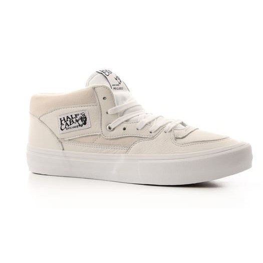 Half Cab Pro (Leather/White)