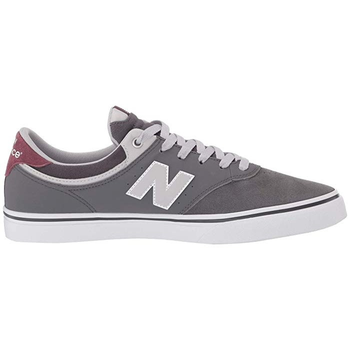 New Balance Numeric 255 Skate Shoes (gray/plum)