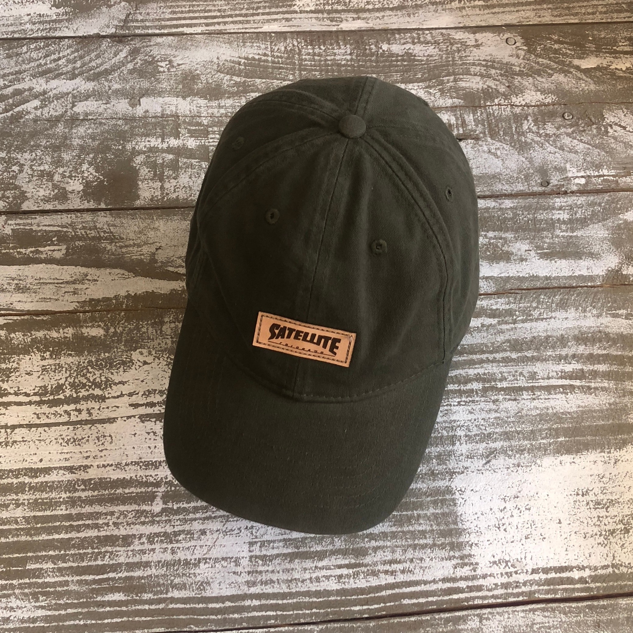 Satellite Dad Cap (olive)
