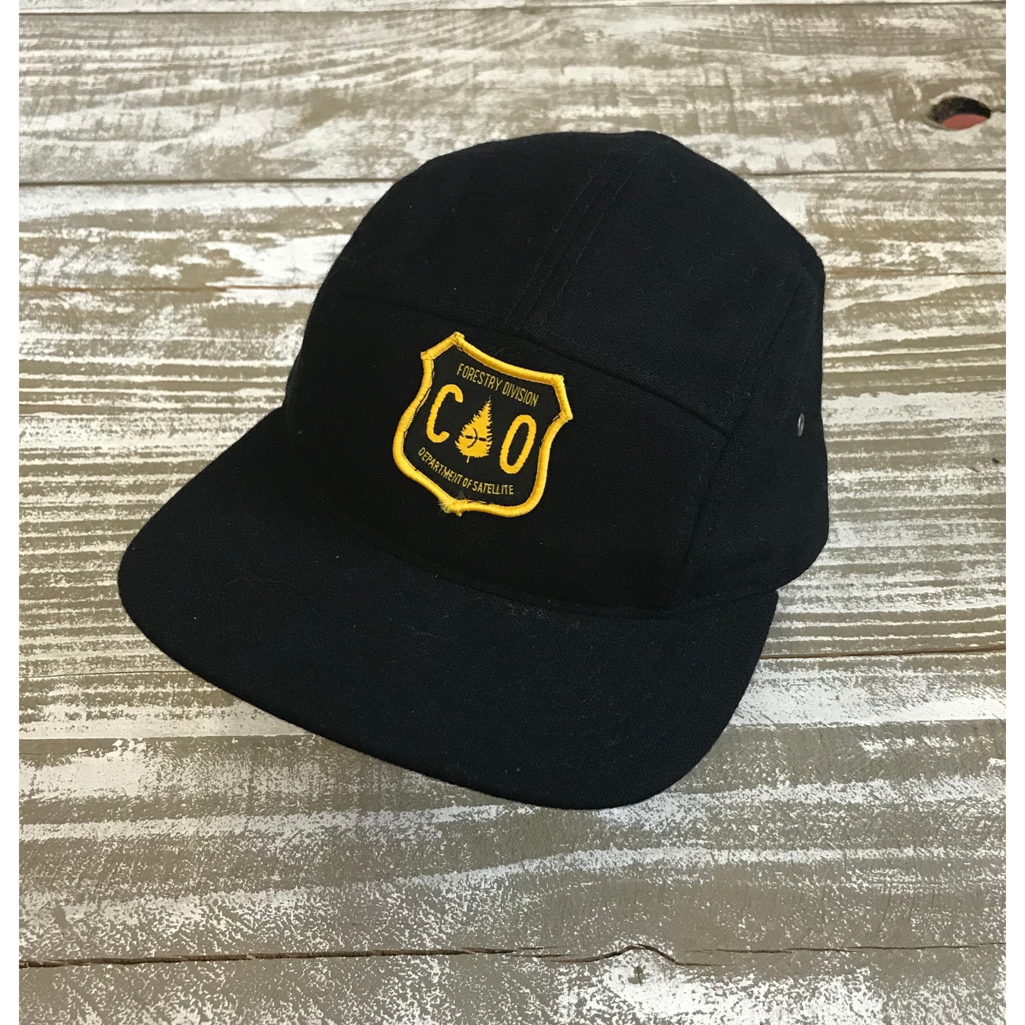 Satellite Wool Cap (Black/Forestry Division)