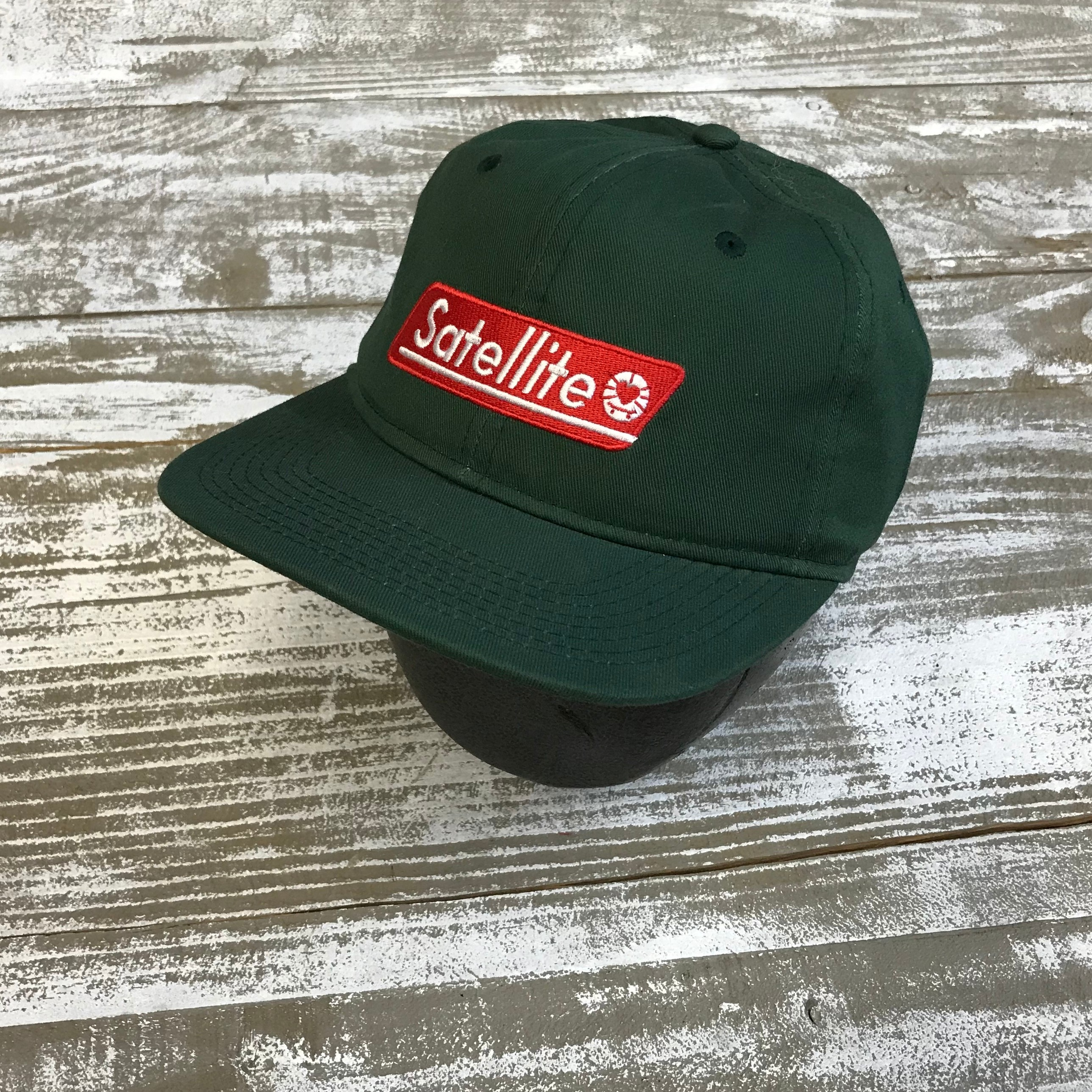 Satellite Satellite Coleman Hat (Forest Green)