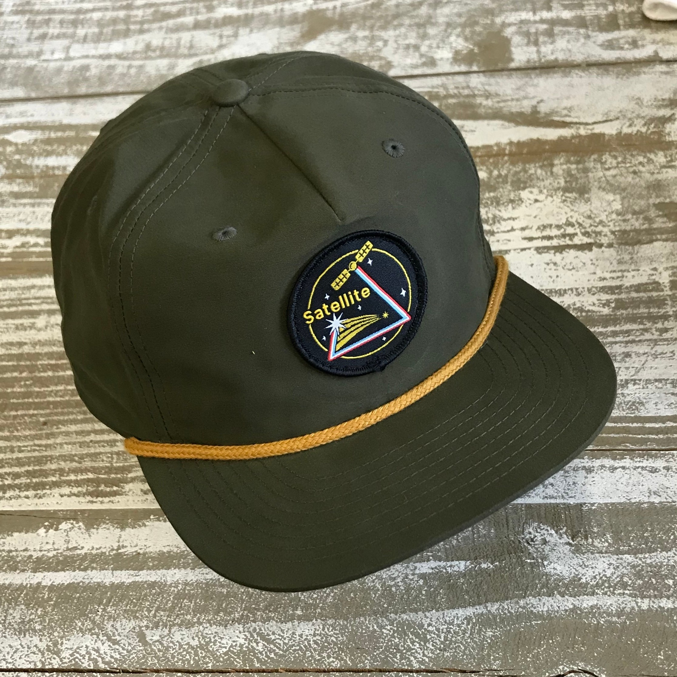 Satellite Grandpa Cap (loden/space)
