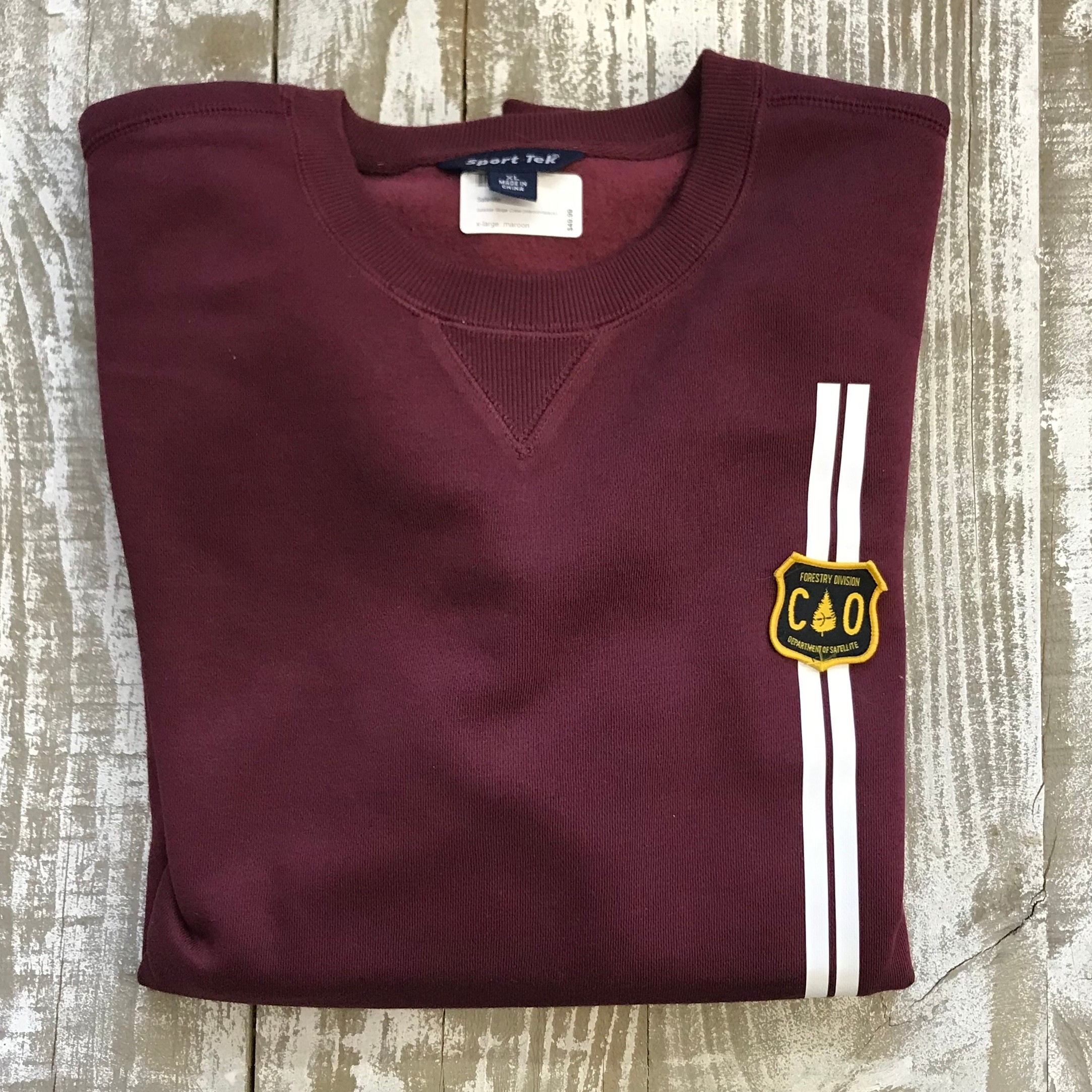 Satellite Stripe Crew (maroon/forestry division)