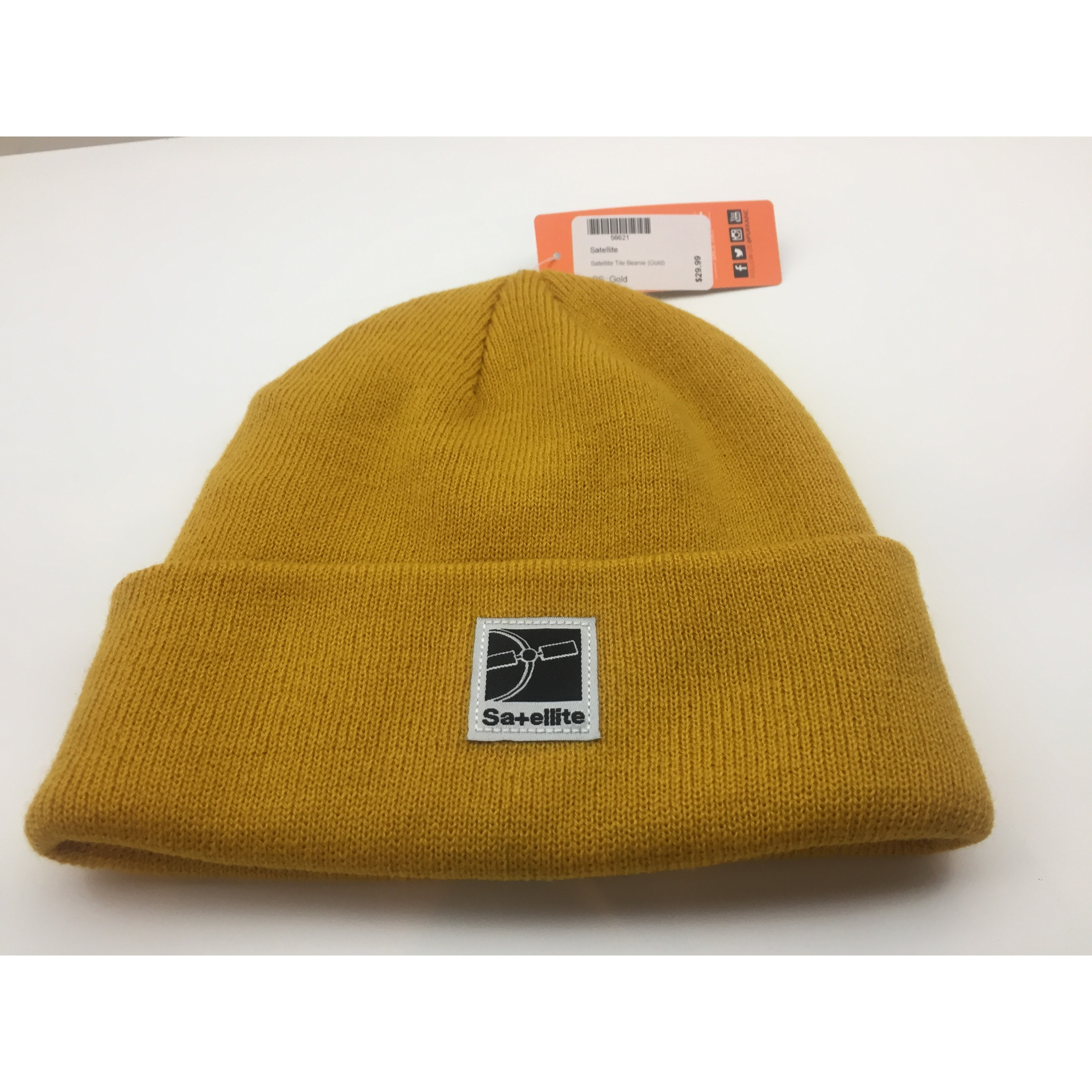 Satellite Satellite Tile Beanie (Gold)