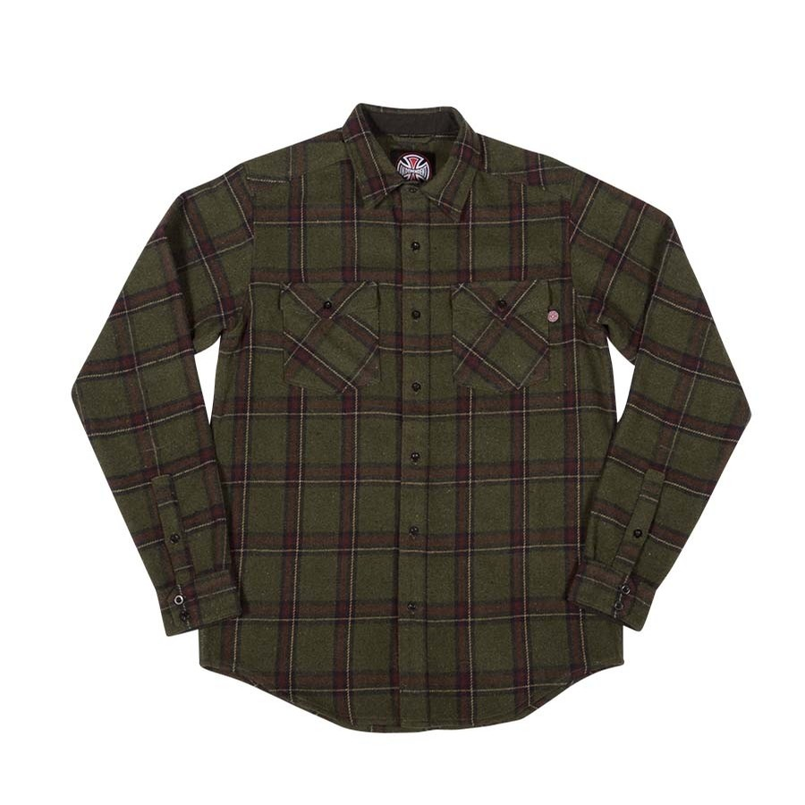 Chainsaw L/S Button Up Top