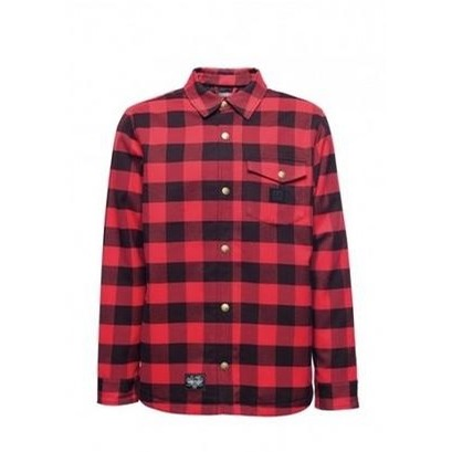 15 Flannel Red (Red/Black)