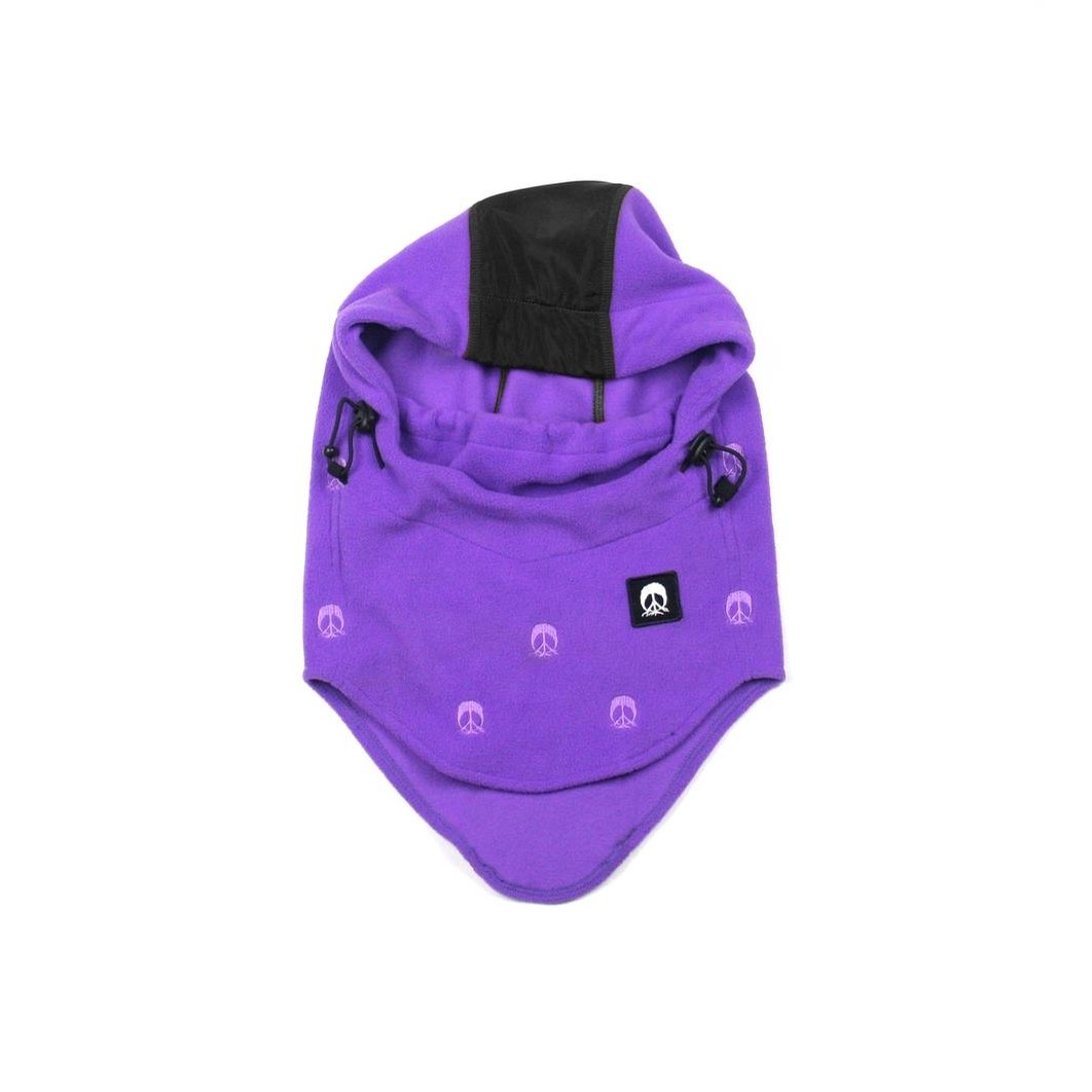 Facemask Hood (purple)