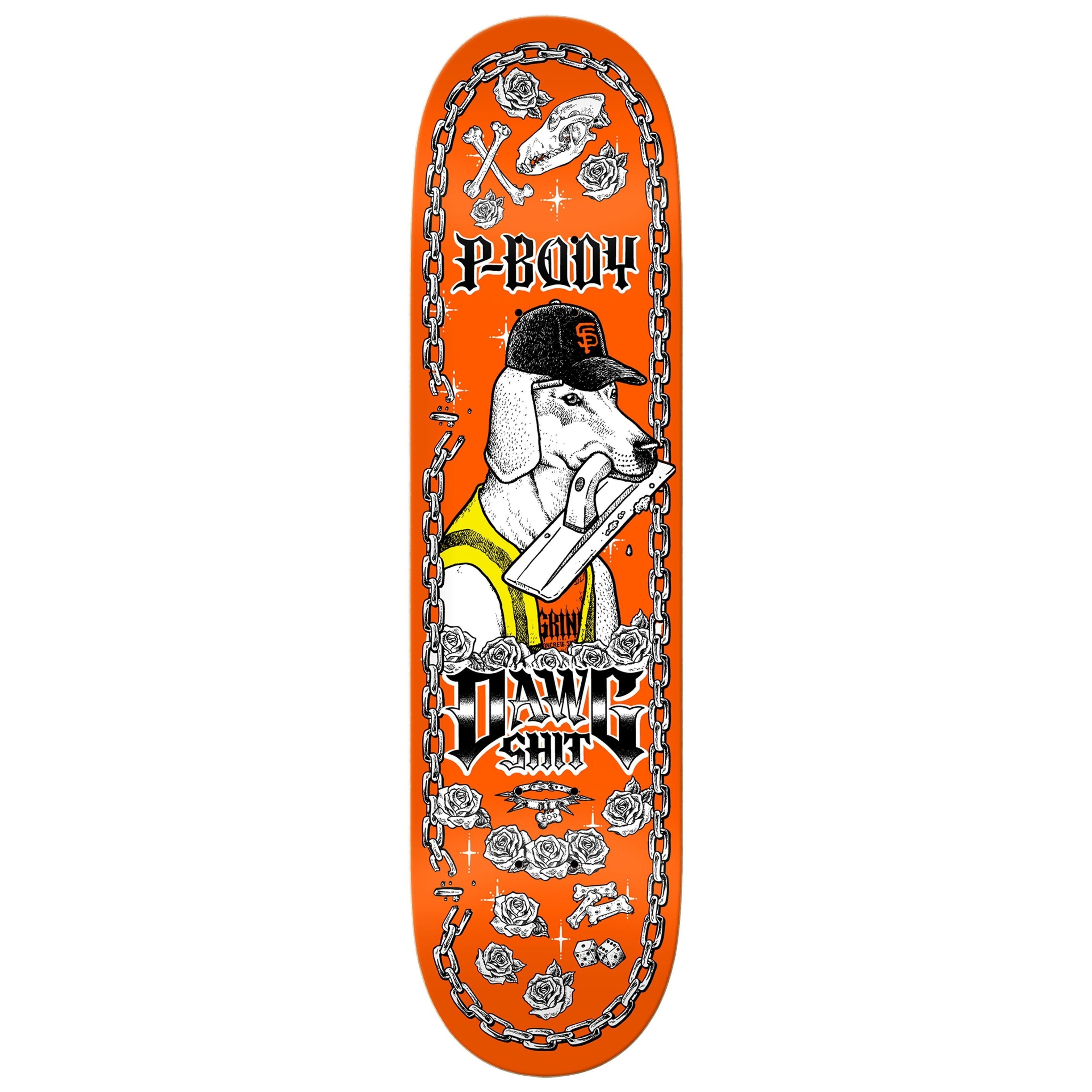 Spring 2019 P Body Dawgshit Deck