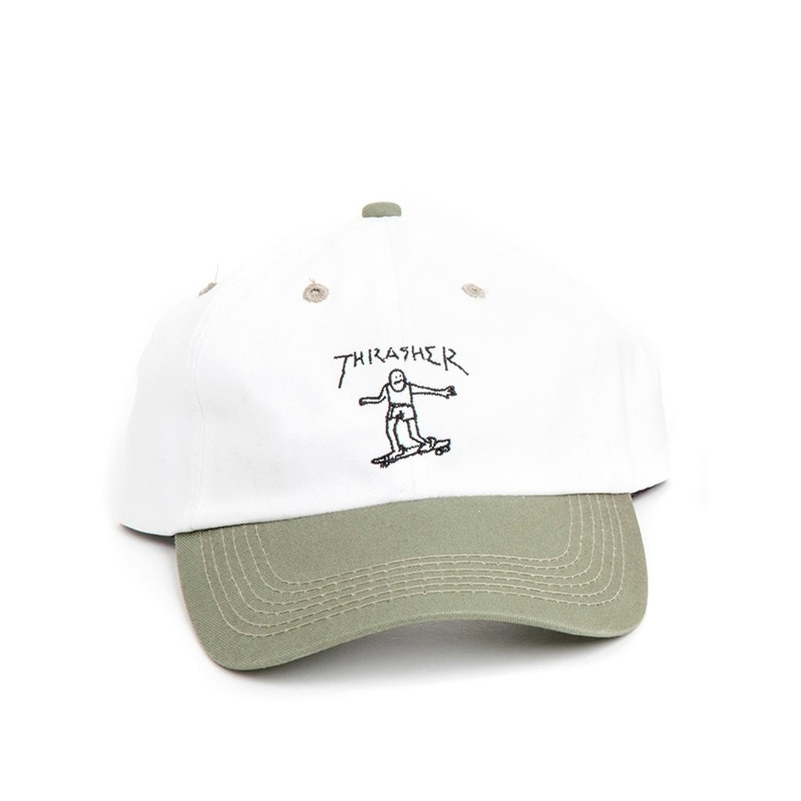 gonzales old timer hat (white/olive)