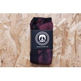 2015 Gnarly Tye Dye Sock (Burgundy)