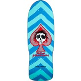 Steve Steadham Skull and Spade (Aqua/Blue)
