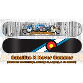 NEVER SUMMER Satellite X NS Collab (SL Board)