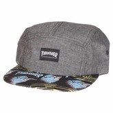 First Cover 5-Panel (Gray/Multi)
