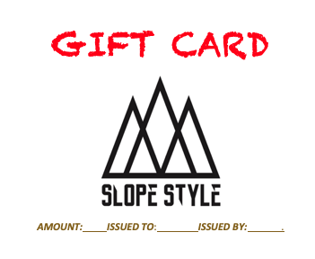 Slope Style Gift Card