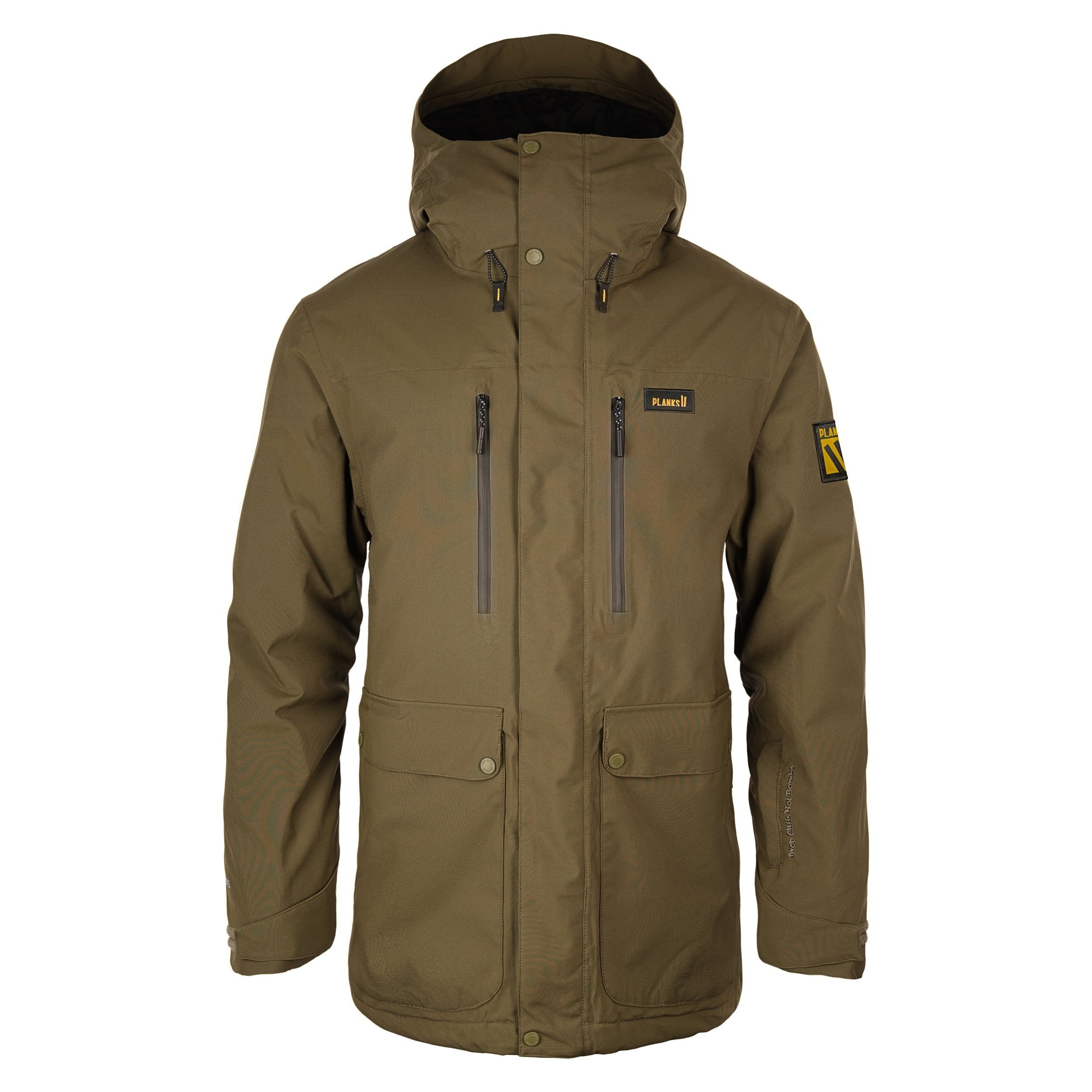 ALL TIME INSULATED JACKET: ARMY GREEN