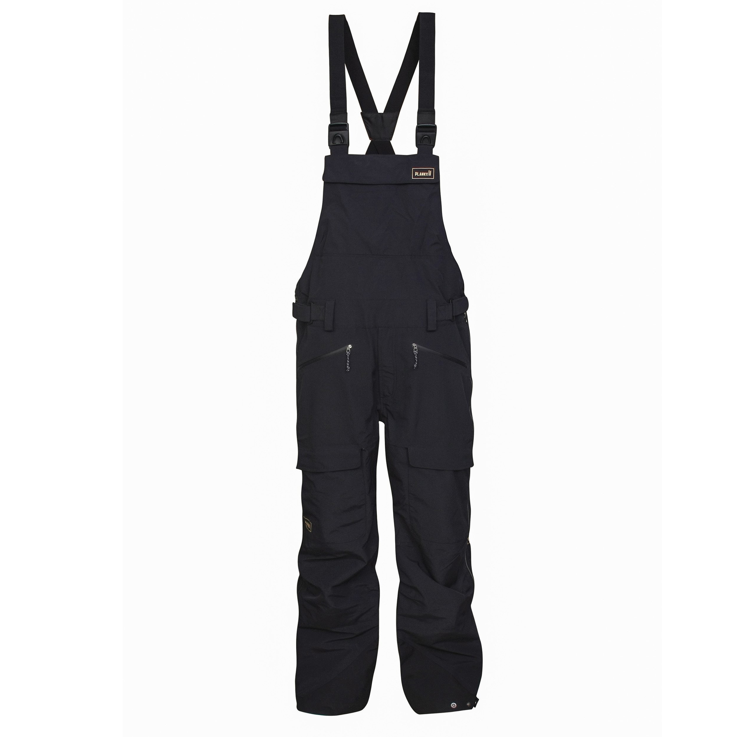 YETI HUNTER SHELL BIB: BLACK