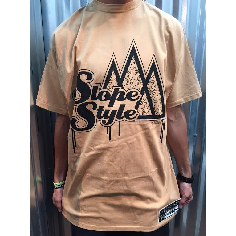 TALL TEE PRODUCTIONS SLOPE STYLE x TALL TEE CO LAB: KHAKI