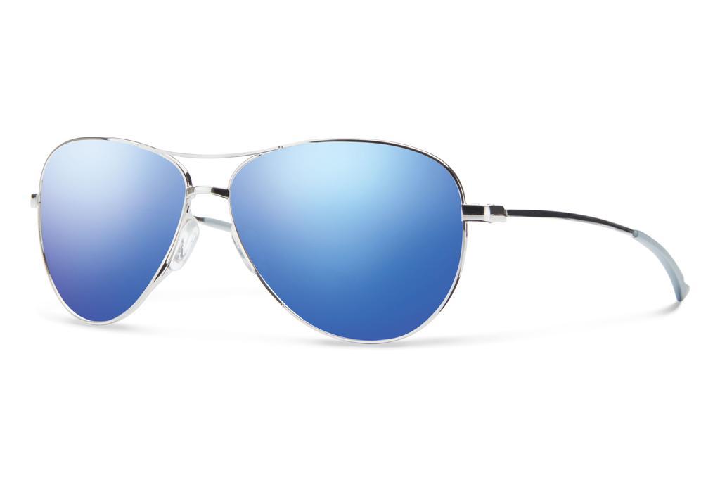 Silver/ Blue Flash Mirror