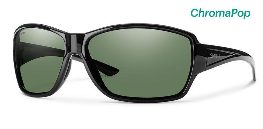 Black/ ChromaPop™ Grey Green Polarized