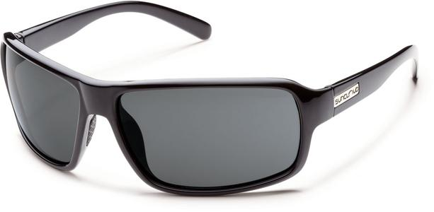Tailgate Sunglass - Black/ Grey Polarized