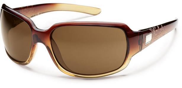 Cookie Sunglass - Brown Fade Laser/ Brown Polarized