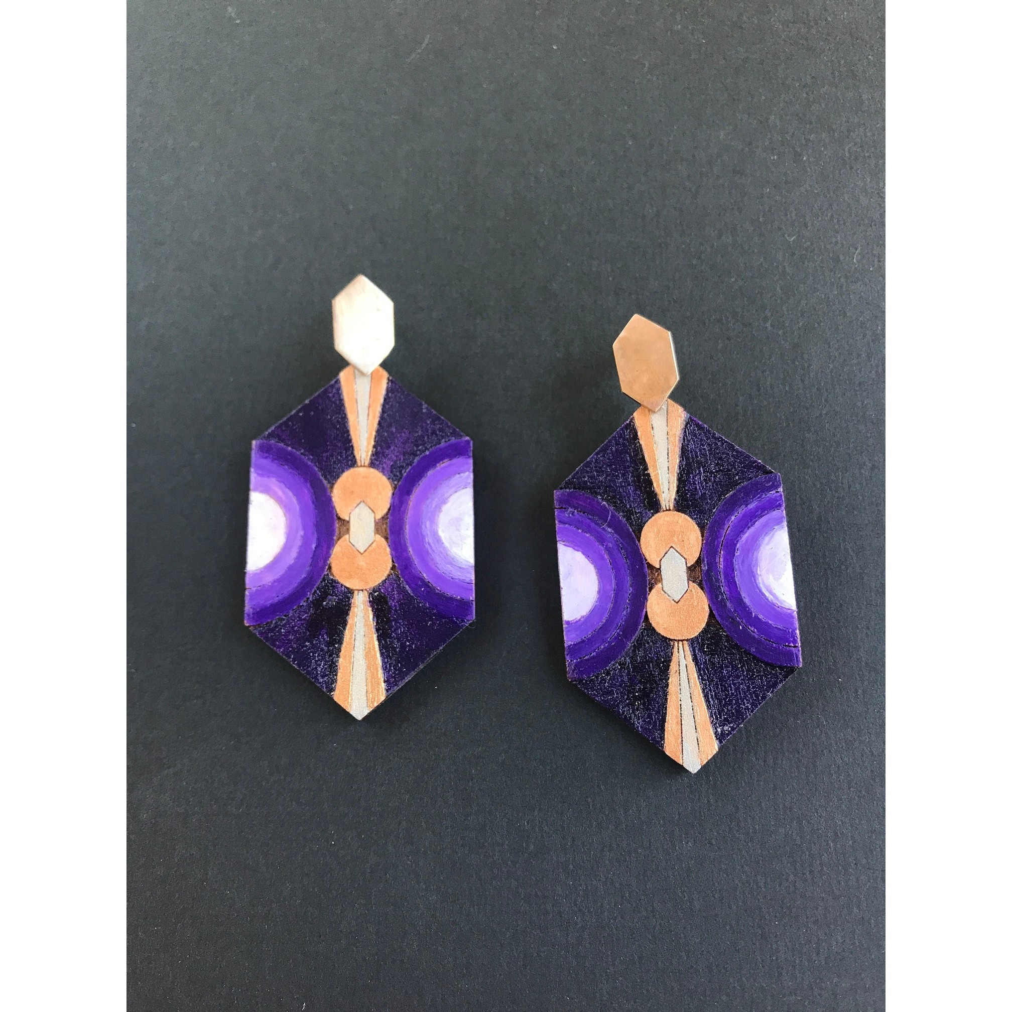 Dream Earrings - Purple