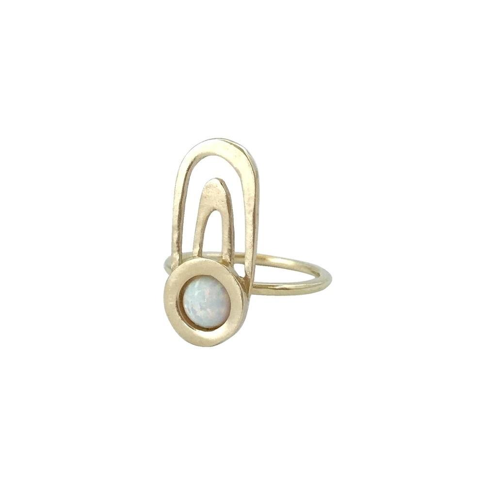 Ripple Ring - Opal
