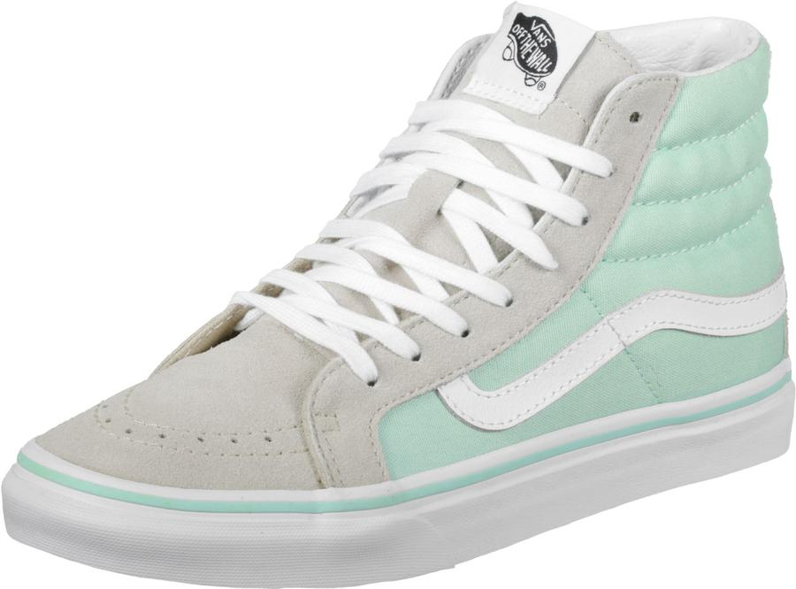 0684d79b09 Vans Sk8 Hi Slim (Bay True White) Footwear Women s Shoes Casual Shoes at  Switch Skateboarding