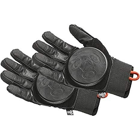 T8 Downhill Slide Gloves (Black)