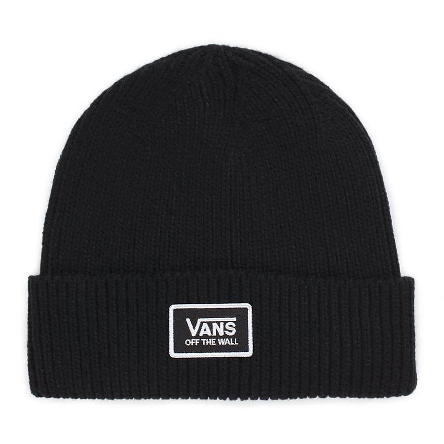 49d09879a5 Vans Falcon Beanie (Black) Hats Beanies at Switch Skateboarding