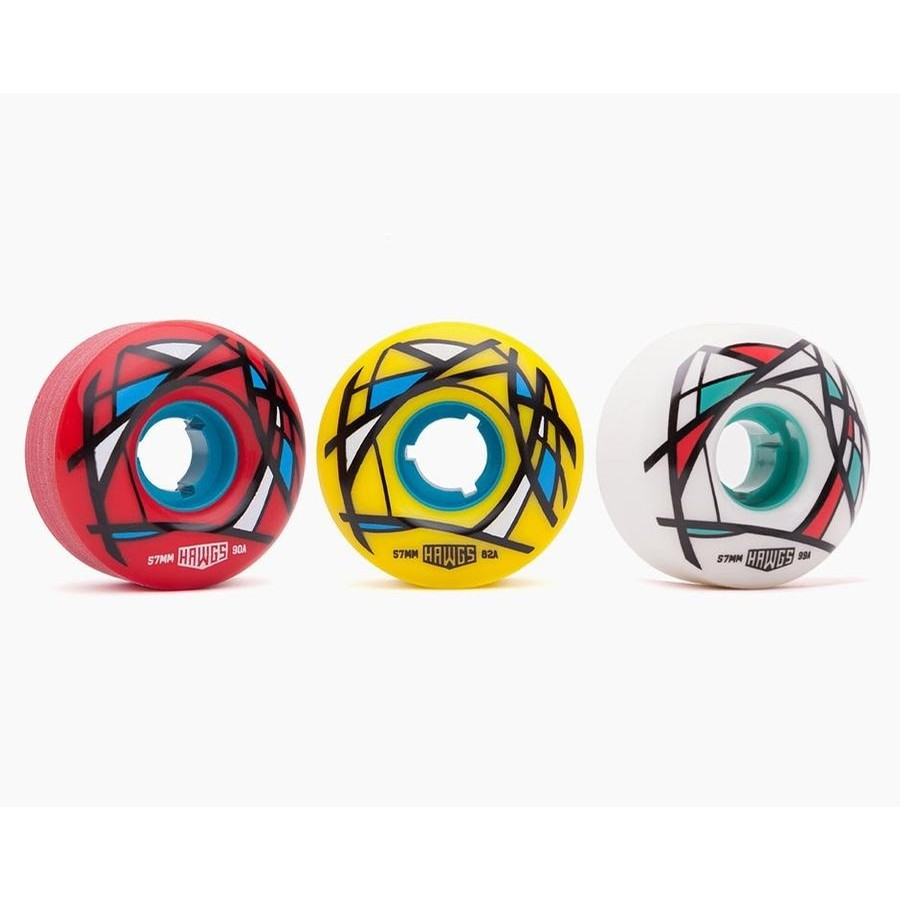 Cordova 90A Wheels (Red)