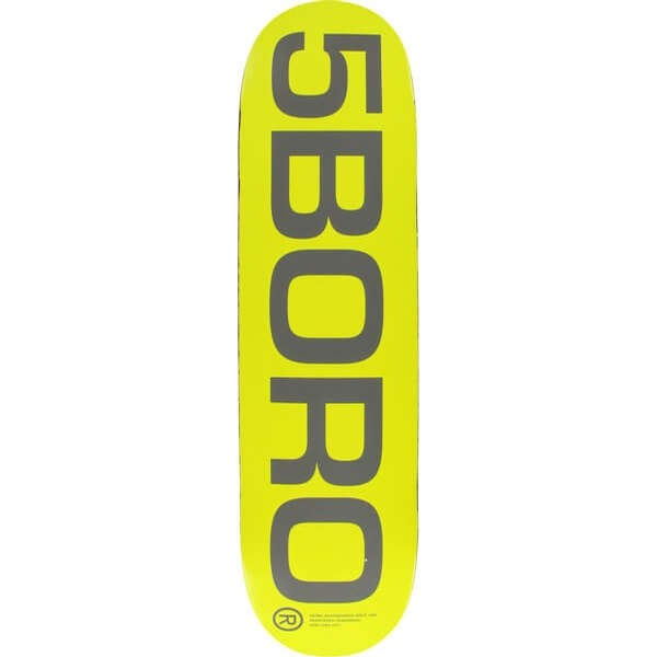 EXT Logo Deck (Yellow)