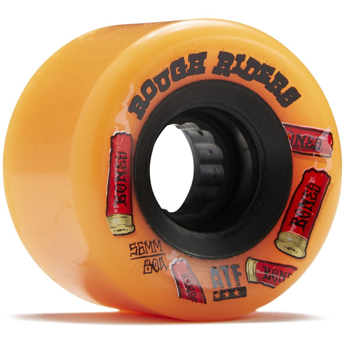 Rough Riders Shotgun 59mm 80a Wheels (Orange)
