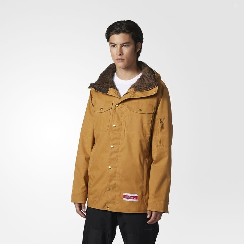 Glisan Jacket (Brown)
