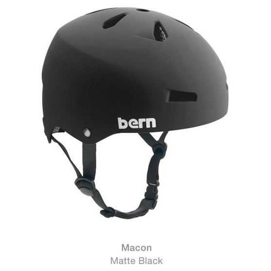 Macon Hard Hat Matte Black