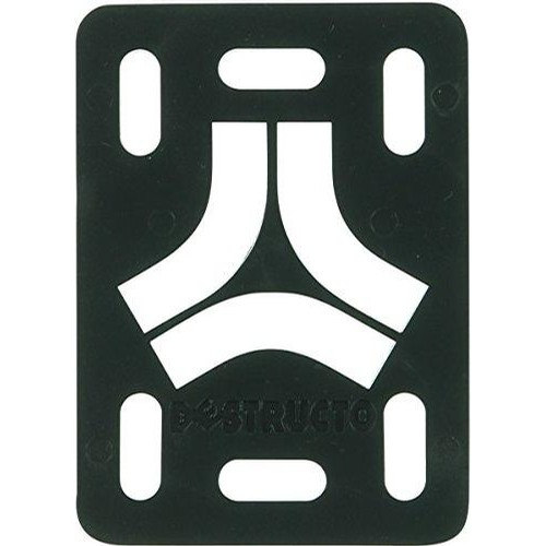 Destructo Rubber Riser Pads (Black)