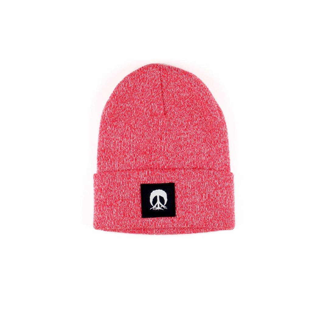 Jersey Beanie (Red Marble)