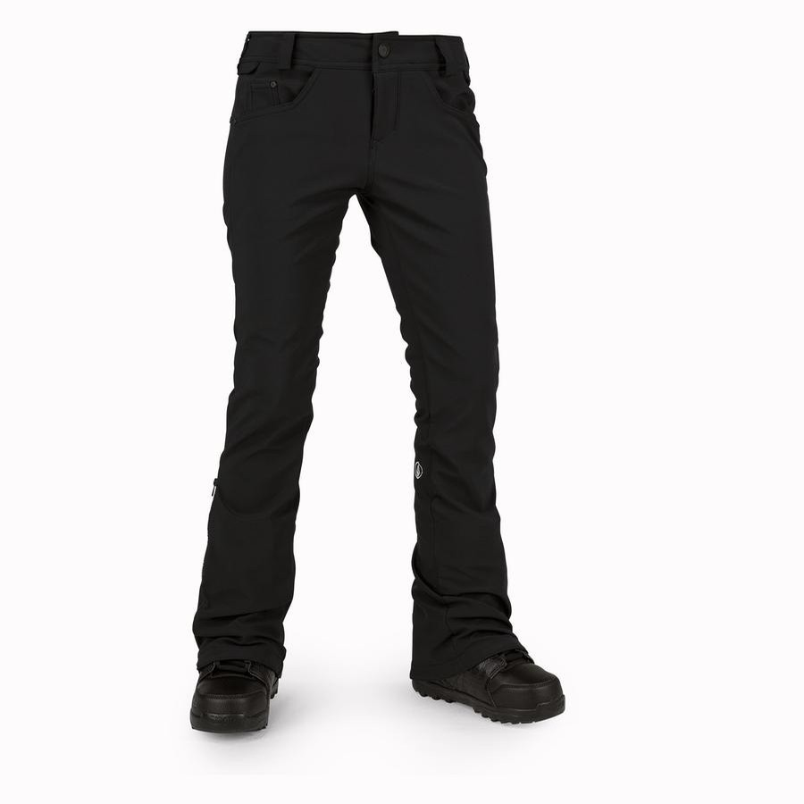 Battle Stretch Skinny Snow Pants (Black)