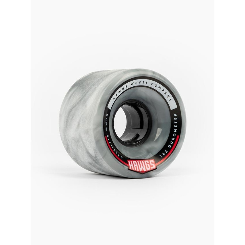 Chubby Hawgs Wheels (Grey/White Swirl)