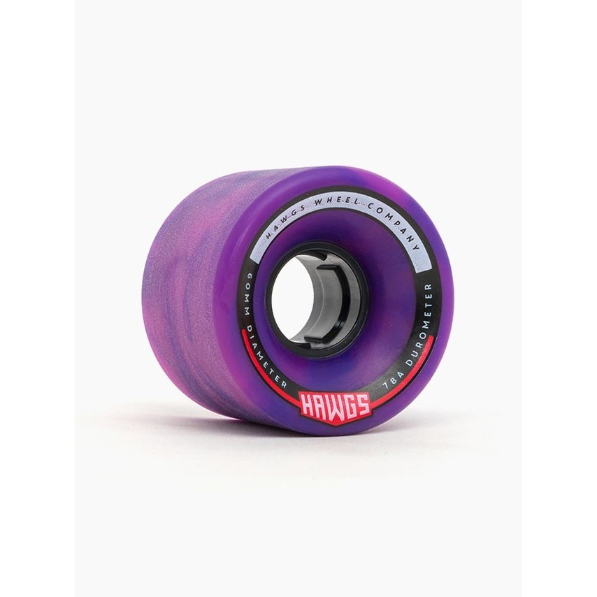 Chubby Hawgs Wheels (Pink/Purple Swirl)