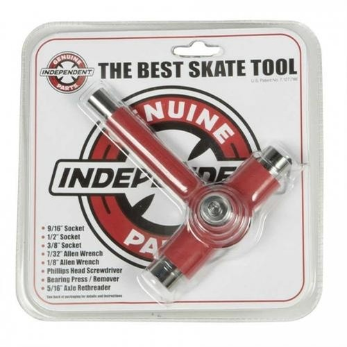The Best Skate Tool Independent (Red)