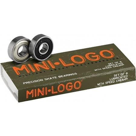Mini Logo Precision Skateboard Bearings