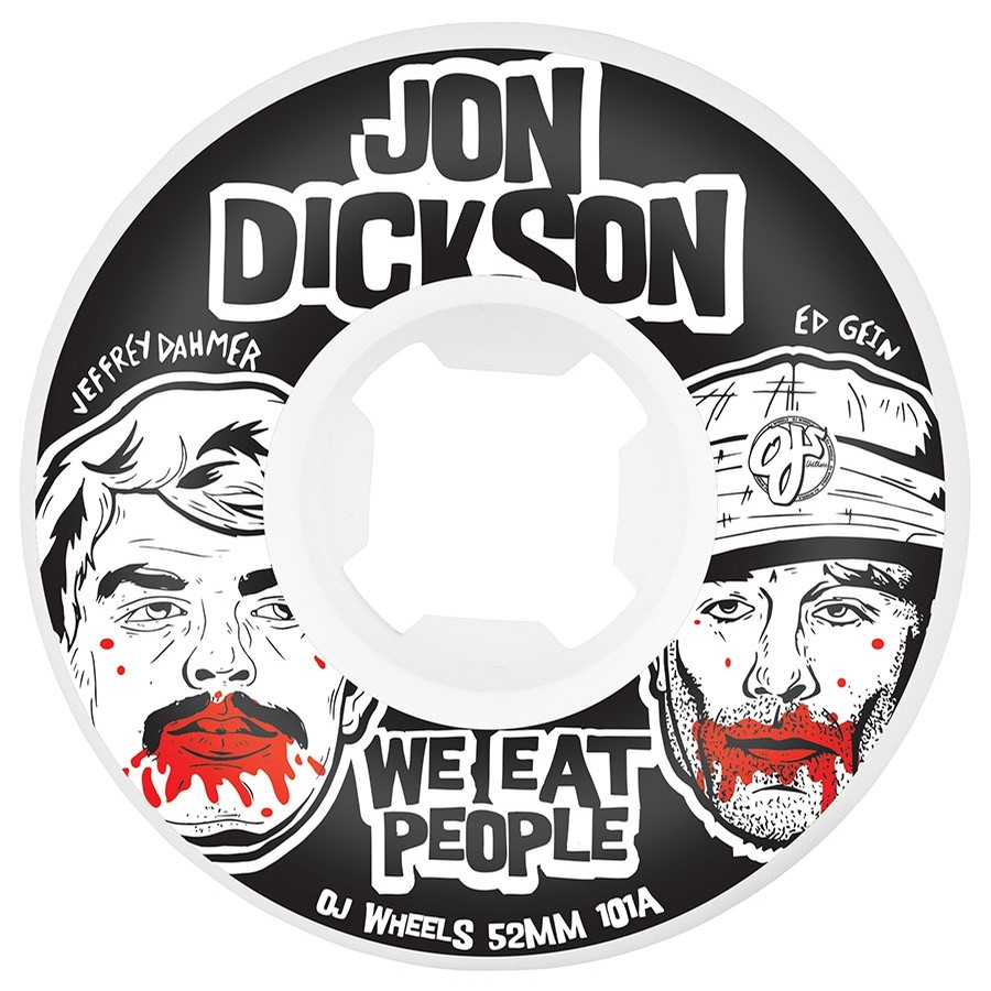 Dickson We Eat People Insaneathane EZ Edge Wheels