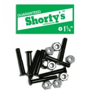 Shortys Hardware Phillips Black (1 1/4 Inch)