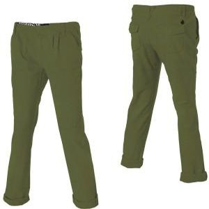 Lived in Cuffed Pant (Burnt Olive)
