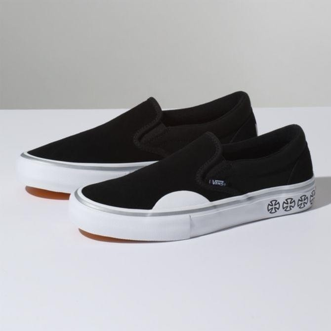 Vans X Independent Slip On Pro (Black/White)