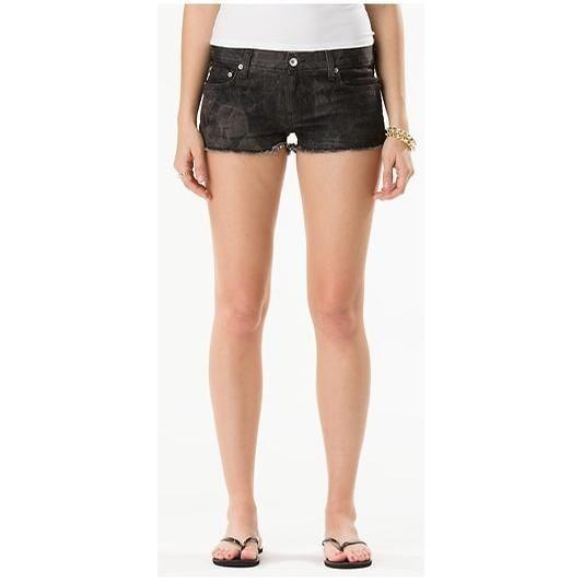 Stationed Denim Shorts (Black)